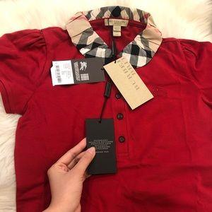 NWT Burberry Tshirt XS